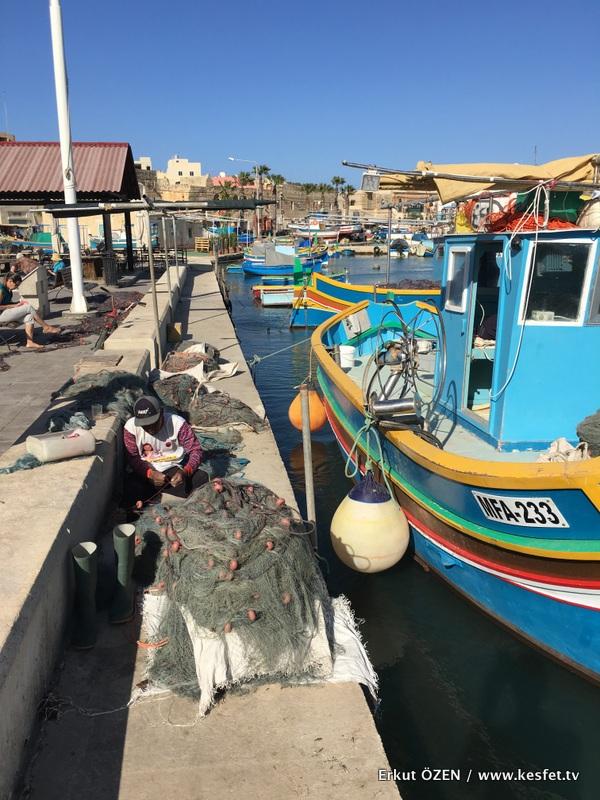 malta gezi rehberi marsaxlokk balıkçılar