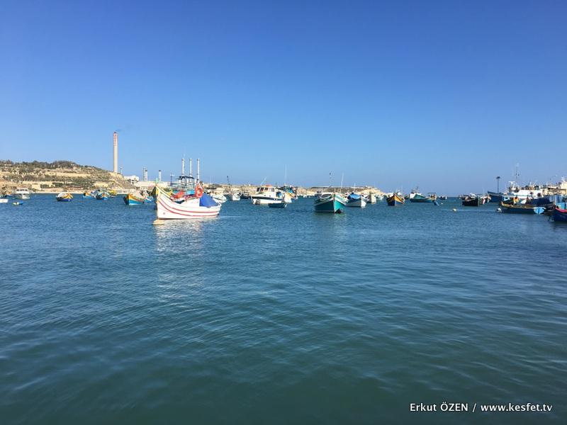 Marsaxlokk limanı
