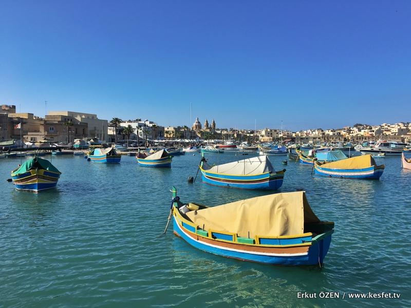 marsaxlokk Malta gezisi