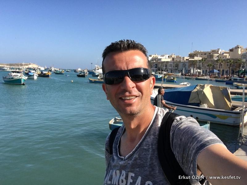 marsaxlokk gezisi Malta turu rehberi Erkut Özen