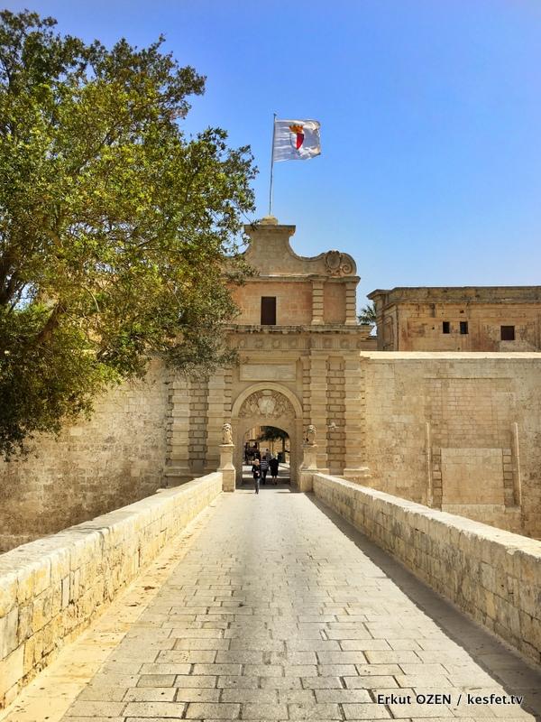 Malta gezilecek yerler Mdina gezisi