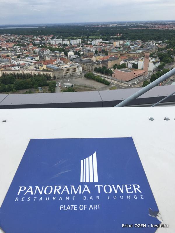 Leipzig Gezisi Rehberi panorama tower