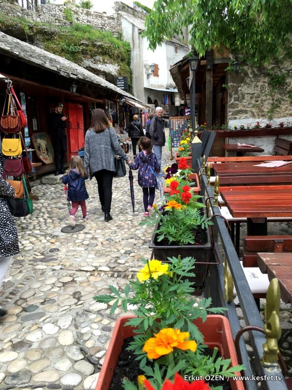 Mostar Gezi Rehberi sokaklar