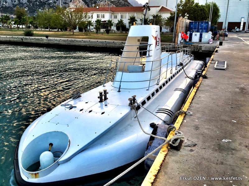 antalya turistik denizaltı