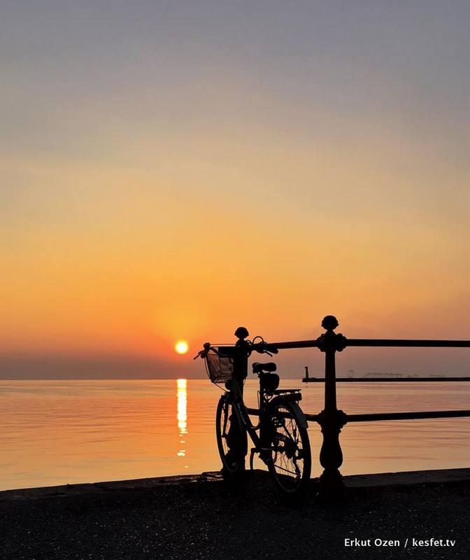 selanik izmir sunset