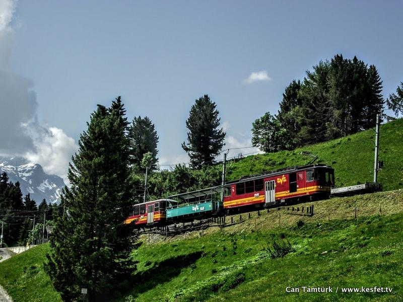 İsviçre alpleri