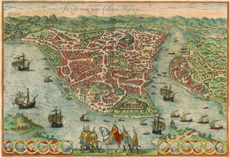 İstanbul'un eski isimleri