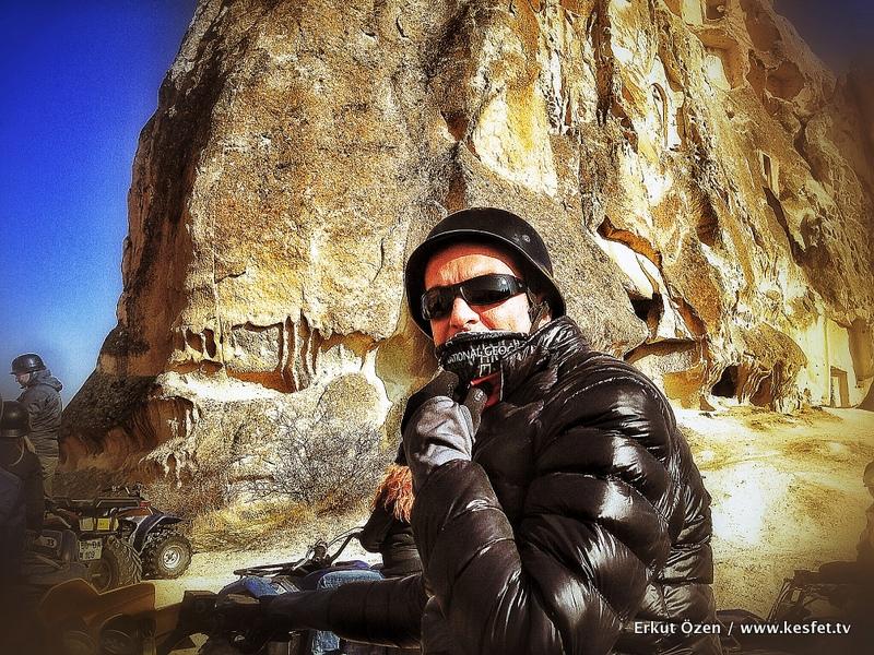 Kapadokya atv turları Seyahat YAzarı Erkut Özen