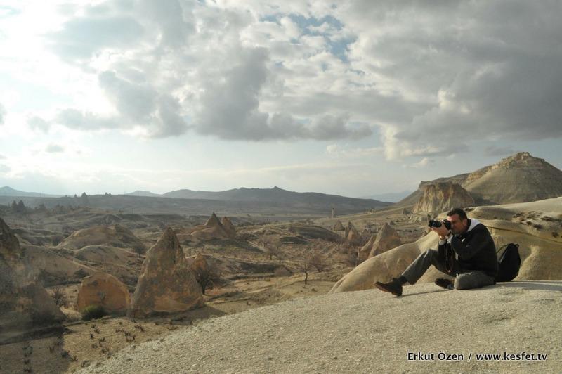Kapadokya zelve Seyahat Yazarı Erkut Özen