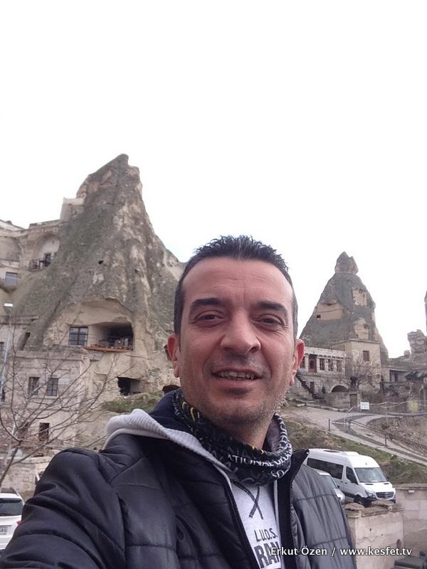 Kapadokya Göreme açık hava müzesi Seyahat yazarı Erkut Özen