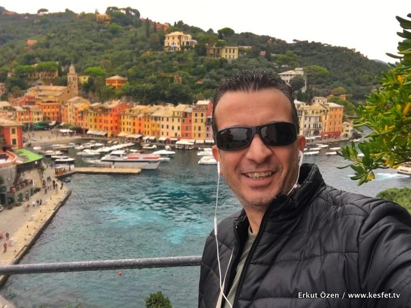 Portofino İtalya rehberi Erkut Özen