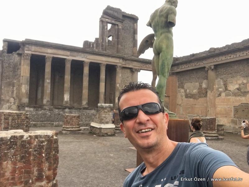 Pompei İtalya rehberi Erkut Özen