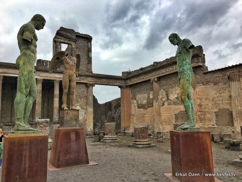 Pompei Vezüv yanardağı
