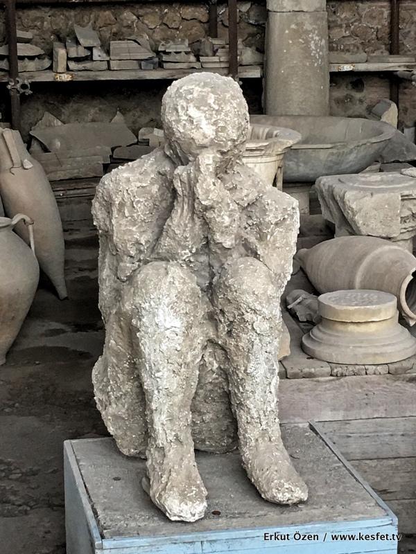 Pompei kalıntıları