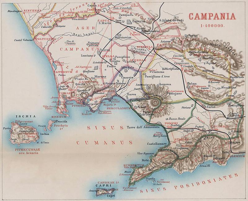 Pompei haritası