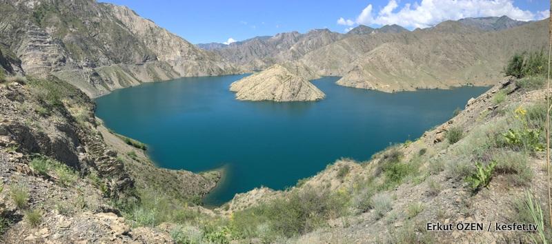 Kırgızistan Gezisi göl