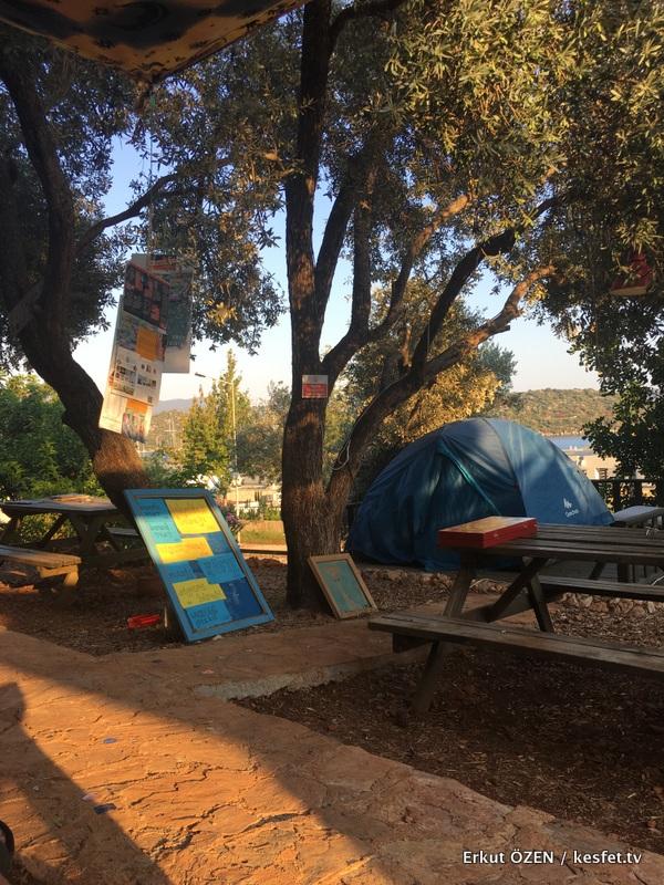 Kaş kamp alanları can tent
