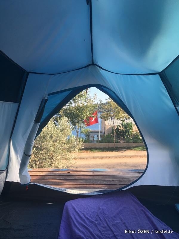 Kas Kamp Alanlari