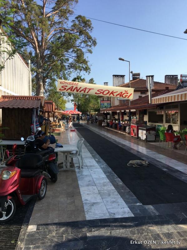 Köyceğiz Gezi Rehberi sanat sokağı