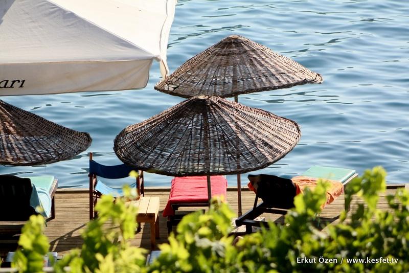 Suna Pansiyon plajı