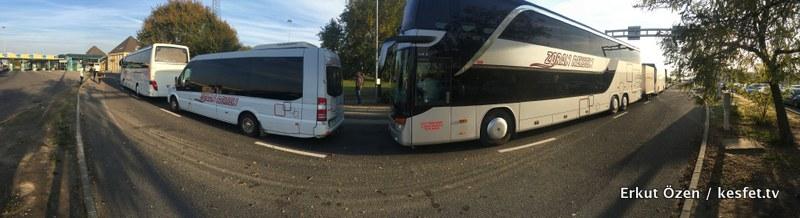 Otobüsle Orta Avrupa Turu sınırlar
