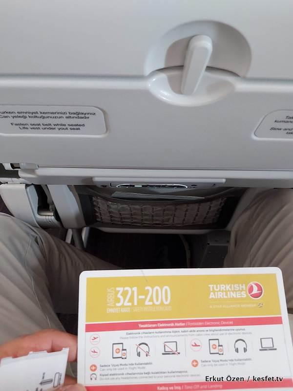 Türk Hava Yolları Koltuk Arası Mesafesi