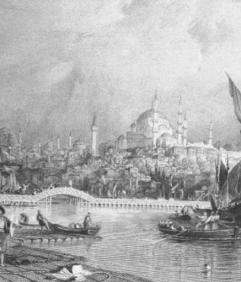 ibrahim mutefferika istanbul'u gezerken
