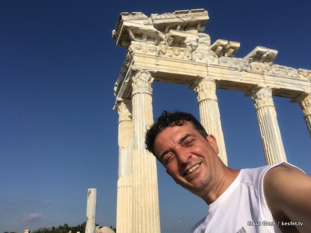 Side Rehberi Seyahat Yazarı Erkut Özen