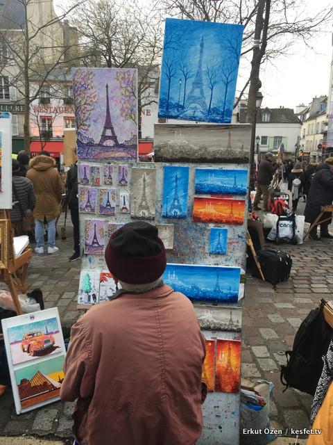 Paris gezi rehberi bohem