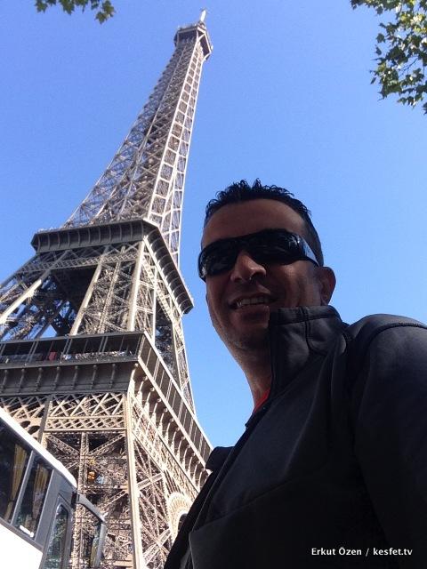 Paris gezi rehberi Erkut Özen