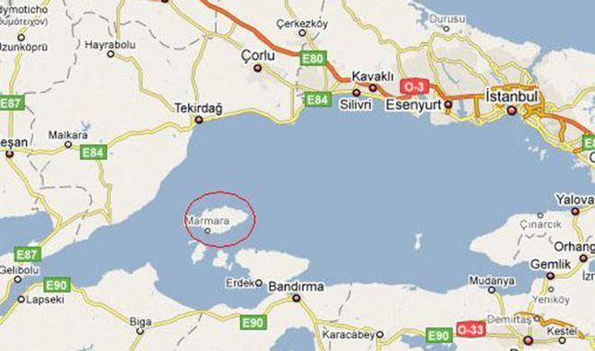 Bayramda Nereye Gitsek marmara adası harita