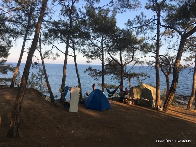 Anamur gezi rehberi kamp yeri