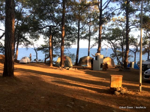 Anamur kamp alanları