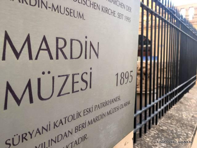 Mardin Müzesi kapısı