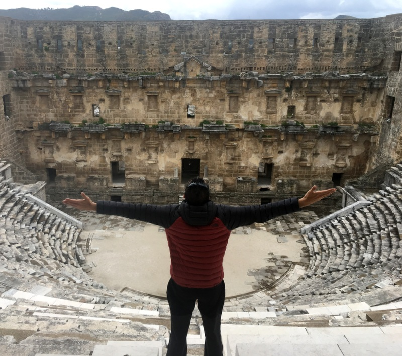 Aspendos Seyahat Yazarı Erkut Özen