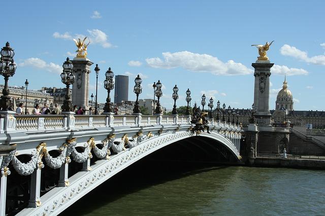 En Ünlü Köprüler Paris