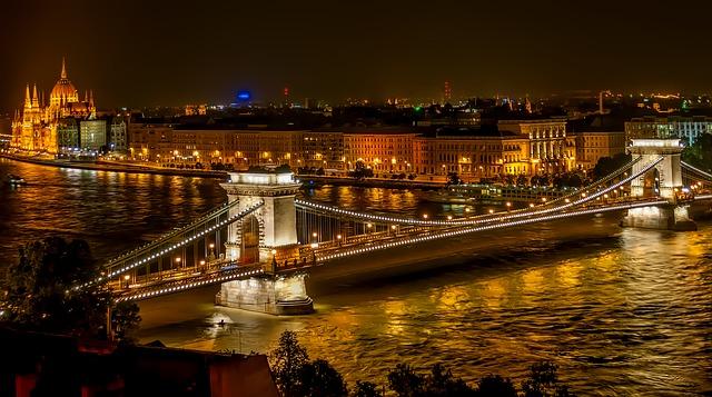 En Ünlü Köprüler Budapeşte