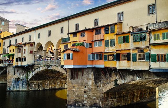 En Ünlü Köprüler Ponte Vecchio