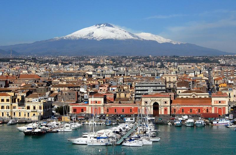 Etna Yanardağı Sicilya
