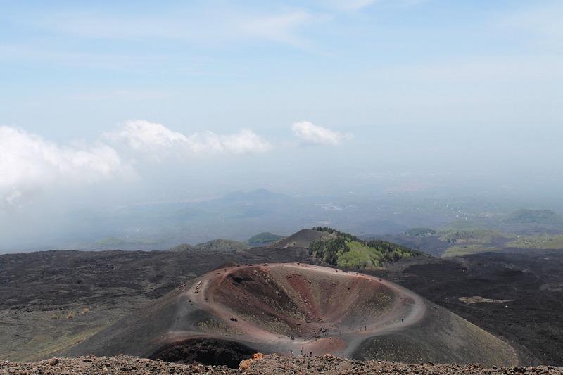 Etna Yanardağı Krateri