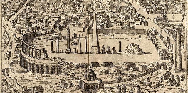 Örme Dikilitaş İstanbul eski