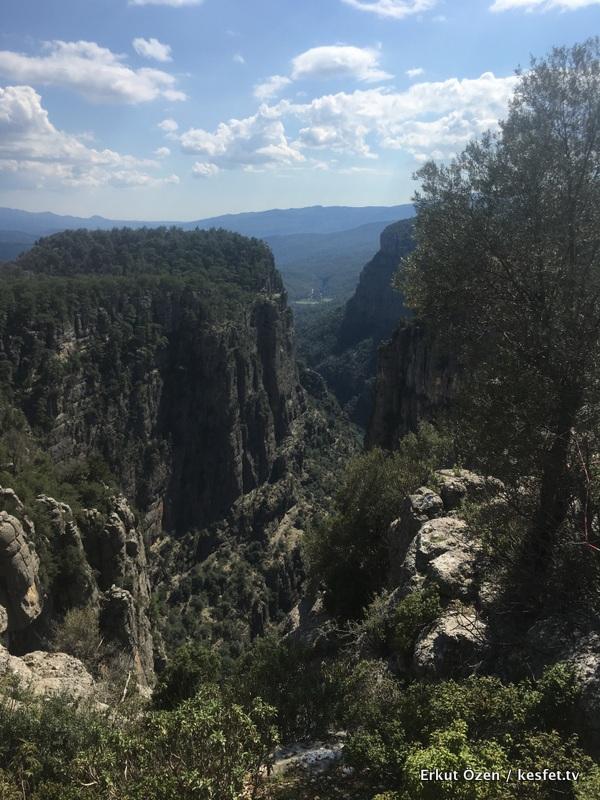 Bilgelik vadisi ve tazı kanyonu