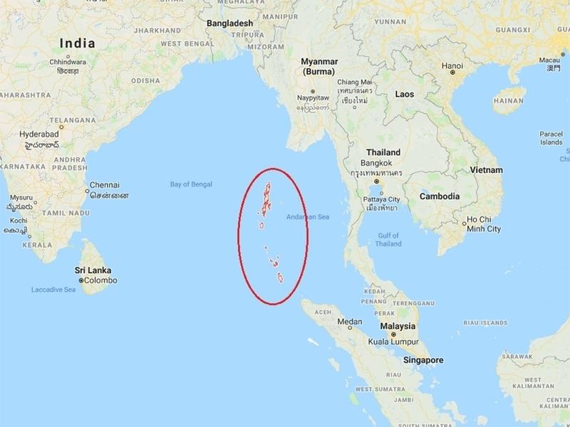 Andaman Adaları nerede