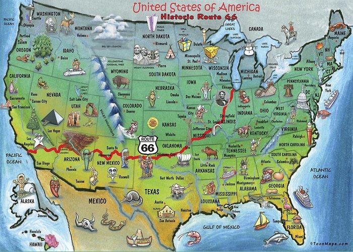 Route 66 rotası