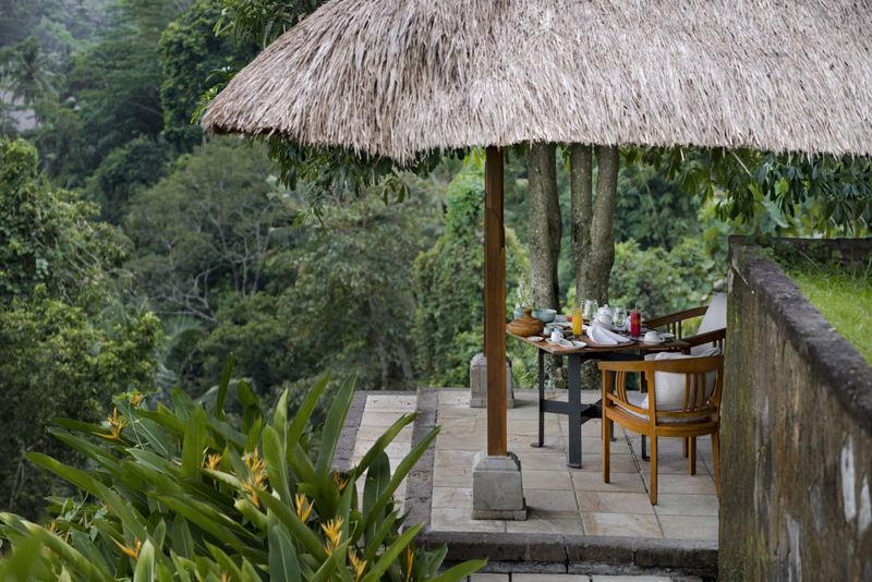 Bali otelleri Amandari Kahvaltı