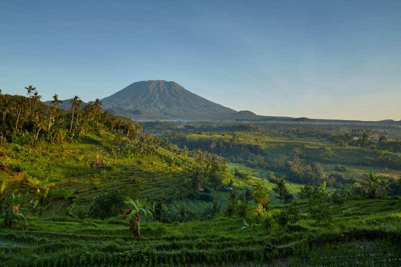 Bali otelleri Amandari manzara