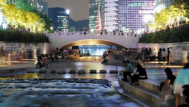 Cheonggyecheon Nehri