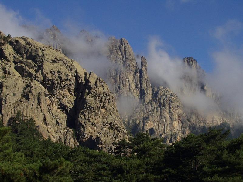 GR 20 Korsika Yürüyüş