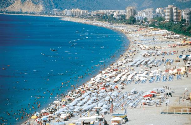 Alanya Kleopatra Plajı Genel
