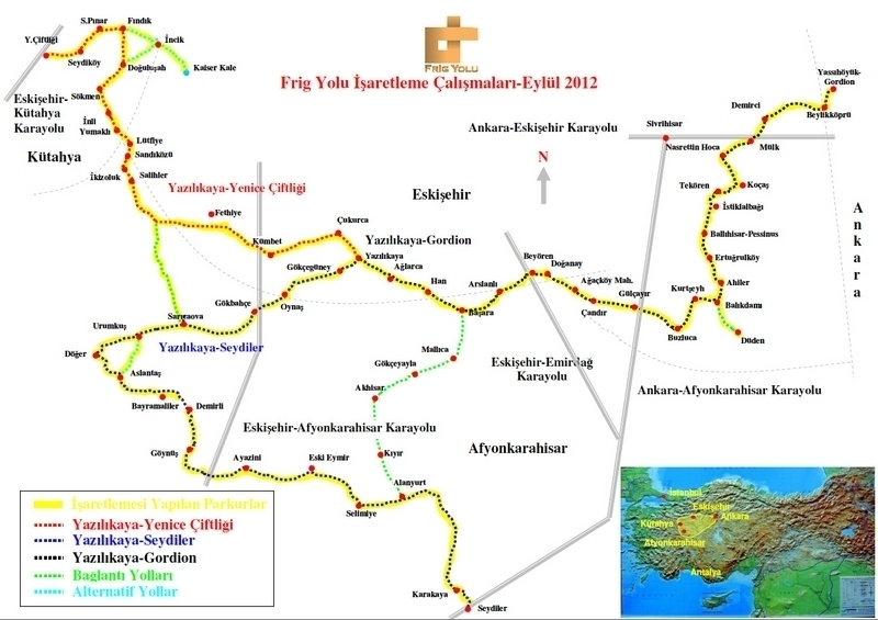 Frig Yolu Haritası